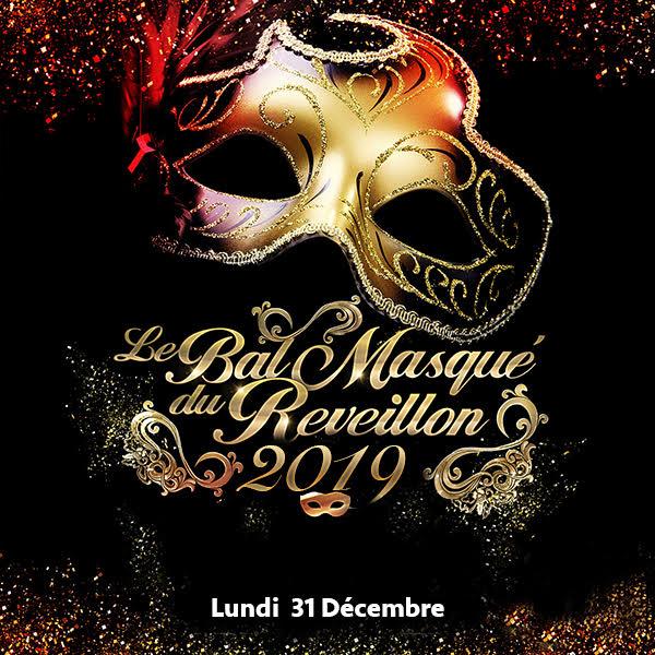 Soirée du 31 Décembre Pavillon Wagram New Year's Eve Party Masked